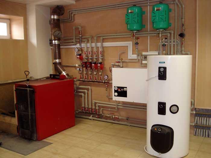 Система отопления с помощью газового конвектора
