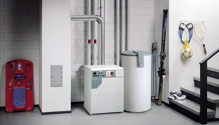 Отопление газом в каркасном доме